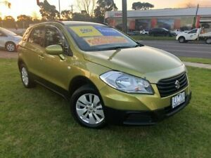 2014 Suzuki S-Cross JY GL Green 7 Speed Constant Variable Hatchback Ferntree Gully Knox Area Preview