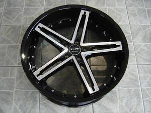 """Kit roues de mag avec pneus neufs 20"""" #M17"""