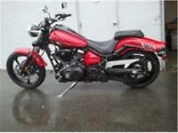 2014 Yamaha Raider . . . . RED !!!! NEW !!!