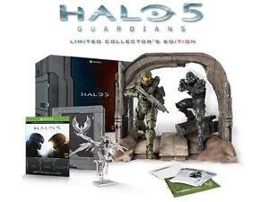 XBOX ONE:HALO 5 Limited Coll Edition XMAS w Master Chief Statue+