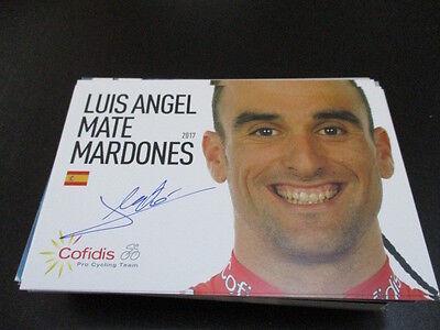 69407 Luis Angel Mate Mardones Radsport original signierte Autogrammkarte