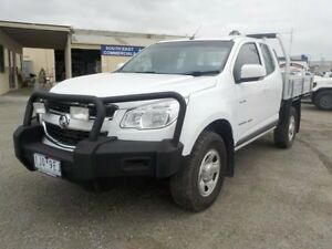 2012 Holden Colorado White Sports Automatic Cab Chassis