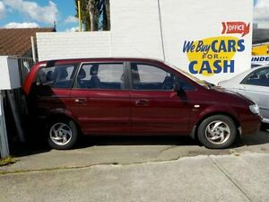 2004 Hyundai Trajet FO GL Red 4 Speed Automatic Wagon