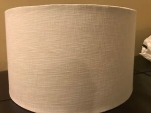 Lampshades in excellent condition