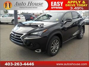 2016 Lexus NX 200T AWD LOW LOW KMS LEATHER BACK UP CAMERA 485KM