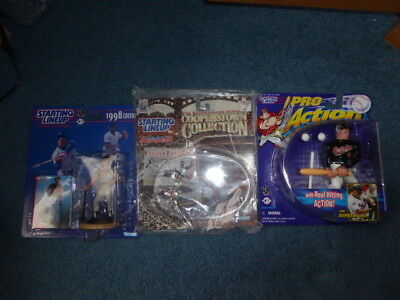 - Starting Lineup Baltimore Orioles 3 Lot Cal Ripken 1998 and Pro; Brooks Robinson