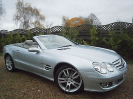 07 MERCEDES-BENZ SL350 3.5 7G-TRONIC AUTOMATIC 1 OWNER. PANORAMIC POWER ROOF FAB