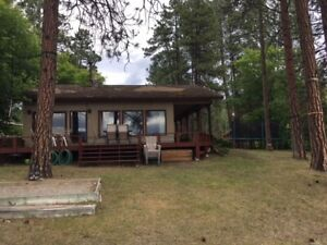 Furnished 3 bedroom house on Wasa Lake