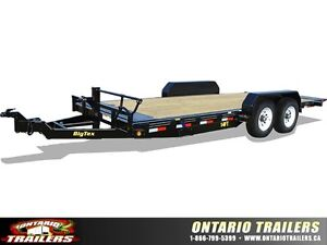 Big Tex 14FT Pro Series Full Tilt Bed Equipment