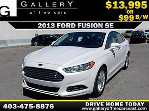 2013 Ford Fusion SE $99 bi-weekly APPLY TODAY DRIVE TODAY