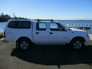 2011 Nissan Navara D22 Series 5 ST-R (4x4) White 5 Speed Manual Dual Cab Pick-up Dapto Wollongong Area Preview
