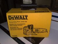 Brand New & Boxed Dewalt DW682K Biscuit Plate Joiner & Tough case,