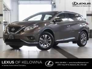 2015 Nissan Murano SL Package w/Navigation and Bose Audio