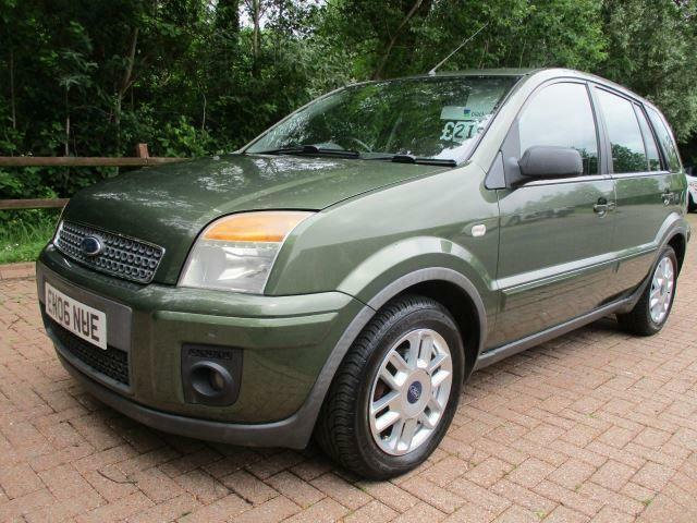 Ford Fusion Zetec Climate 5dr DIESEL MANUAL 2006/06