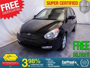 2010 Hyundai Accent GLS *Warranty* $122.40 Bi-Weekly OAC