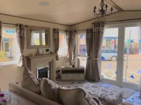 Brand new luxury static caravan with bath on the west coast of Scotland