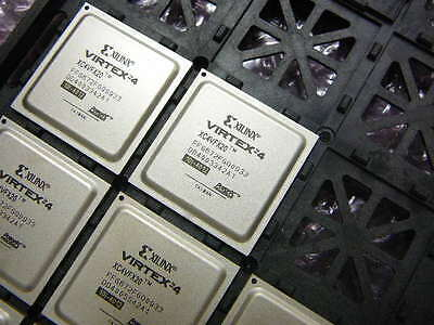 Xilinx Xc4vfx20-10ffg672i Virtex-4 Field Programmable Gate Array Ic Fpga 320 Io