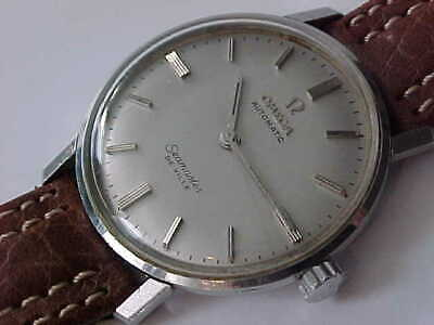 Vintage Omega Stainless Steel Seamaster Deville Automatic Top Loading Case