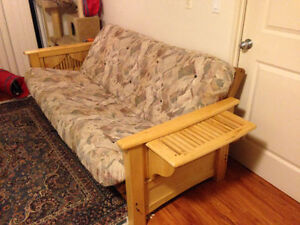 Solid wood futon - best offer!