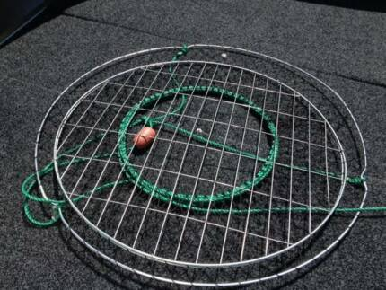LARGE CRAB NET WITH MESH BOTTOM - ONLY $ 12.50 EA.