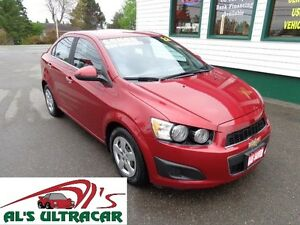2012 Chevrolet Sonic LT Manual for only $98 bi-weekly all in!