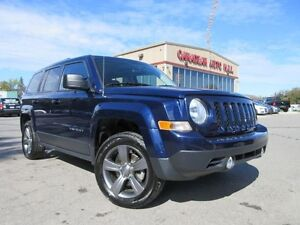 2015 Jeep Patriot 4X4 HIGH ALT, ROOF, LEATHER, 26K!