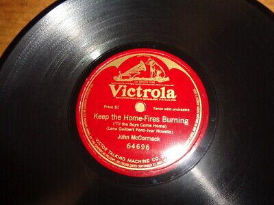WW1 VICTROLA 1-Sided 78/John McCormack-Tenor w.Orch./E!