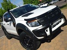 2014 Ford Ranger PX XL 3.2 (4x4) White 6 Speed Automatic Dual Cab Utility Greenway Tuggeranong Preview
