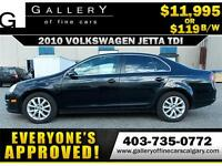 2010 Volkswagen Jetta TDI $119 bi-weekly APPLY NOW DRIVE NOW