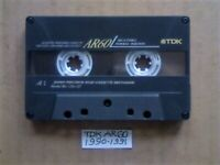 £3 & FREE P&P, GUARANTEED TDK AR 60 PREMIUM CASSETTE TAPES 1990-1991 W/ CARDS CASES LABELS