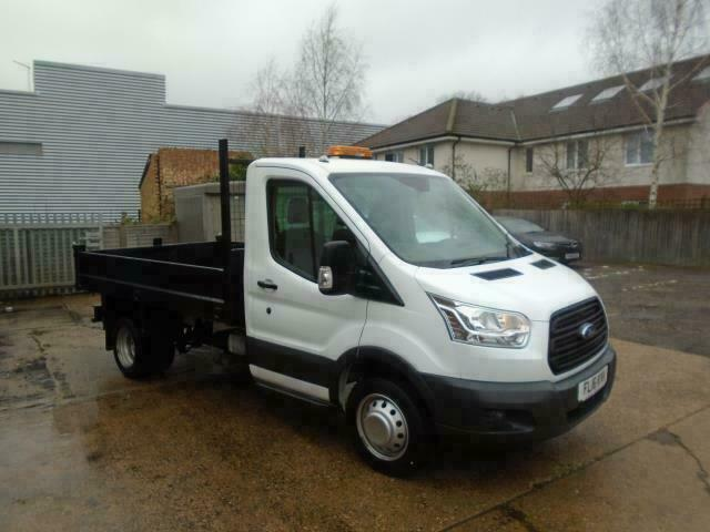 d96a5bba27 Ford Transit 2.2 Tdci 125Ps Chassis Cab DIESEL MANUAL WHITE (2016)