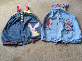 Baby girl's clothes bundle - Newborn to 12 months