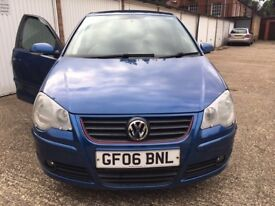 VW POLO 1.2 WITH CUSTOM EXHAUST FOR SALE/PART EX