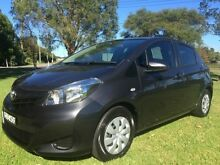 2012 Toyota Yaris NCP130R YR Graphite 4 Speed Automatic Hatchback Tuggerah Wyong Area Preview