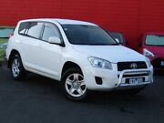 2011 Toyota RAV4 ACA33R MY11 CV White 4 Speed Automatic Wagon Camberwell Boroondara Area Preview