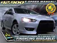 2009 Mitsubishi Lancer SE Loaded | Sunroof | Bluetooth