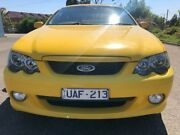 2004 Ford Falcon BA MkII XR6 Yellow 4 Speed Auto Seq Sportshift Sedan Hoppers Crossing Wyndham Area Preview