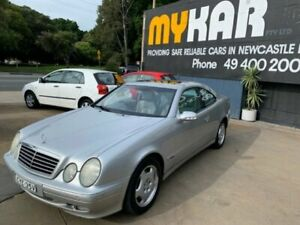 2001 Mercedes-Benz CLK320 Elegance Silver 5 Speed Automatic Coupe Islington Newcastle Area Preview