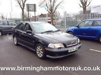1999 (S Reg) Volvo S40 2.0 T AUTOMATIC 4DR Saloon BLACK
