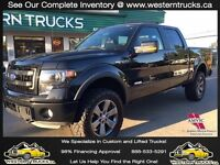 """2014 Ford F-150 FX4 4x4 ~ Level Kit~33"""" AT's ~ EcoBoost $276 B/W"""