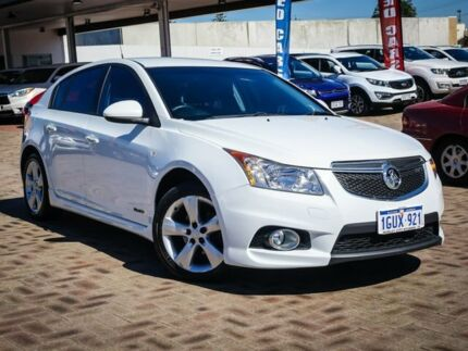 2012 Holden Cruze JH Series II MY12 SRi-V White 6 Speed Sports Automatic Hatchback Morley Bayswater Area Preview