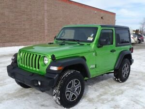 2019 Jeep Wrangler CUSTOMER PREFERRED PKG 24S                3.6