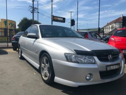 2004 Holden Commodore VZ SV6 Silver 5 Speed Auto Active Select Sedan