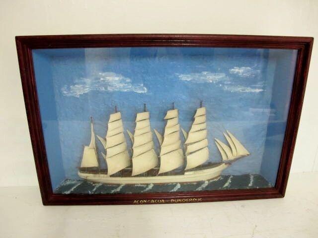 SHIP DIARAMA, DUNQERQUE C1900