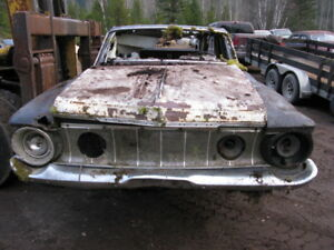 1962 PLYMOUTH BELVEDERE STATION WAGON...selling as a parts car