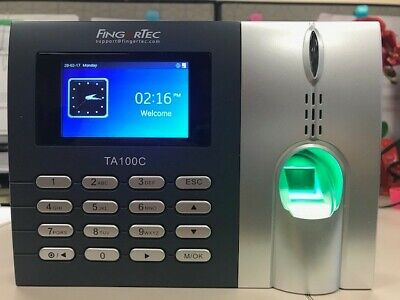 Fingertec -fingerprint Time Clock System