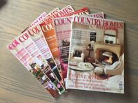Country Homes & Interiors Magazines 2003