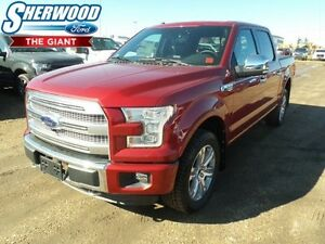 2016 Ford F-150 Platinum w/ Nav, Moonroof, Leather, Tech Package