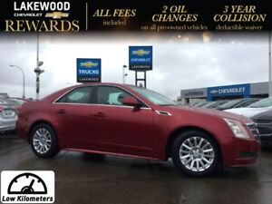 2011 Cadillac CTS Sedan Leather (Heated Leather, Bluetooth, Grea