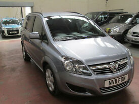 11 VAUXHALL ZAFIRA WHEELCHAIR ADAPTED 50 + ADAPTED VEHICLES IN STOCK